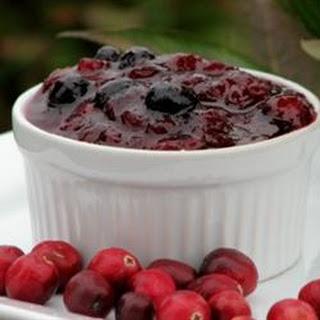 Blue Cranberry Sauce