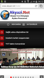 Akyazi.Net- screenshot thumbnail