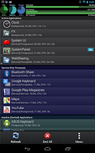 SystemPanelLite Task Manager - screenshot thumbnail