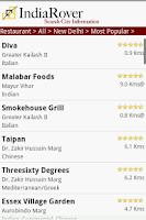 Screenshot of IndiaRover