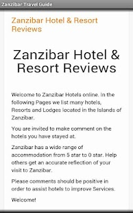 Zanzibar Travel Guide- screenshot thumbnail