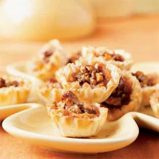 Harvest Sweet Potato Pecan Pie Tarts.