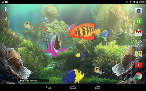 Exotic Aquarium Live Wallpaper
