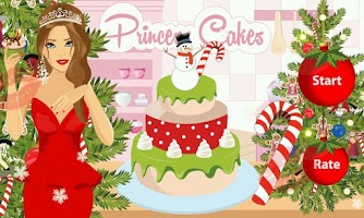 Screenshot of Princess Cakes Christmas