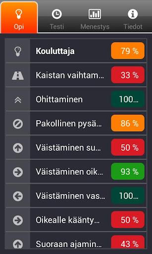 iTeoria suomalainen ajokortti