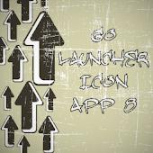 Icon App 8 Go Launcher EX