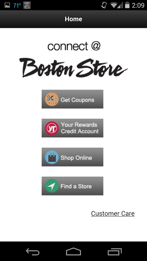 Connect @ Boston Store- screenshot