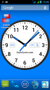 Analog Clock Widget Plus-7 - náhled