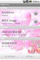 Screenshot of cherry*  LiveWallpaper