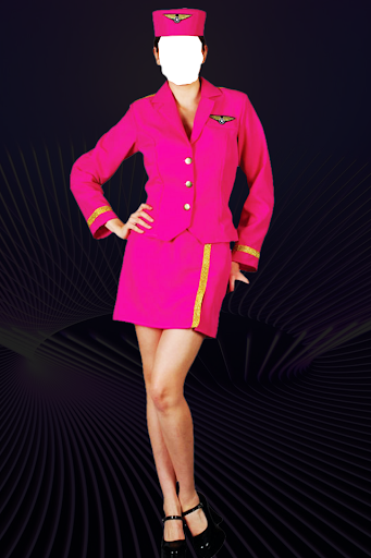 Air Hostess Photo Suit Editor