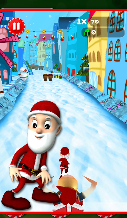 Santa Surfer Adventure- screenshot