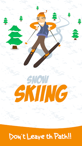 Snow Skiing: Stay on Path