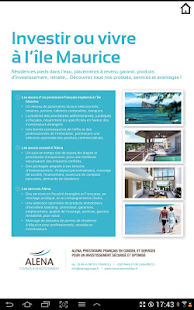 Luxury Mauritius magazine - screenshot thumbnail