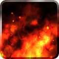 KF Flames Free Live Wallpaper APK for Bluestacks