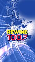 Screenshot of Rewind 100.7