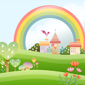 Cute Village Live Wallpaper icon