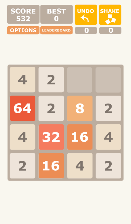 2048 – Screenshot