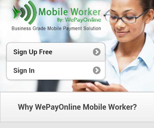 WePayOnline MobileWorker