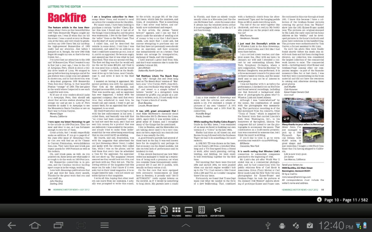 Hemmings Motor News - screenshot