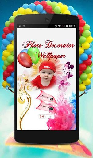 Photo Decorator Wallpaper