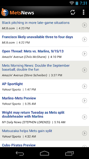 New York Baseball News for PC