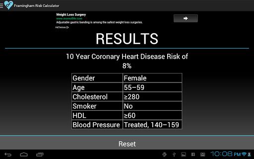 【免費醫療App】Framingham Risk Calculator-APP點子