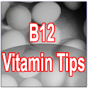 B 12 Vitamin Tips logo