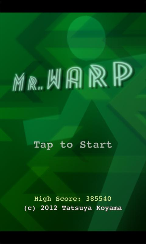 Mr.WARP - screenshot
