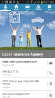 Screenshot of Insurance Agent