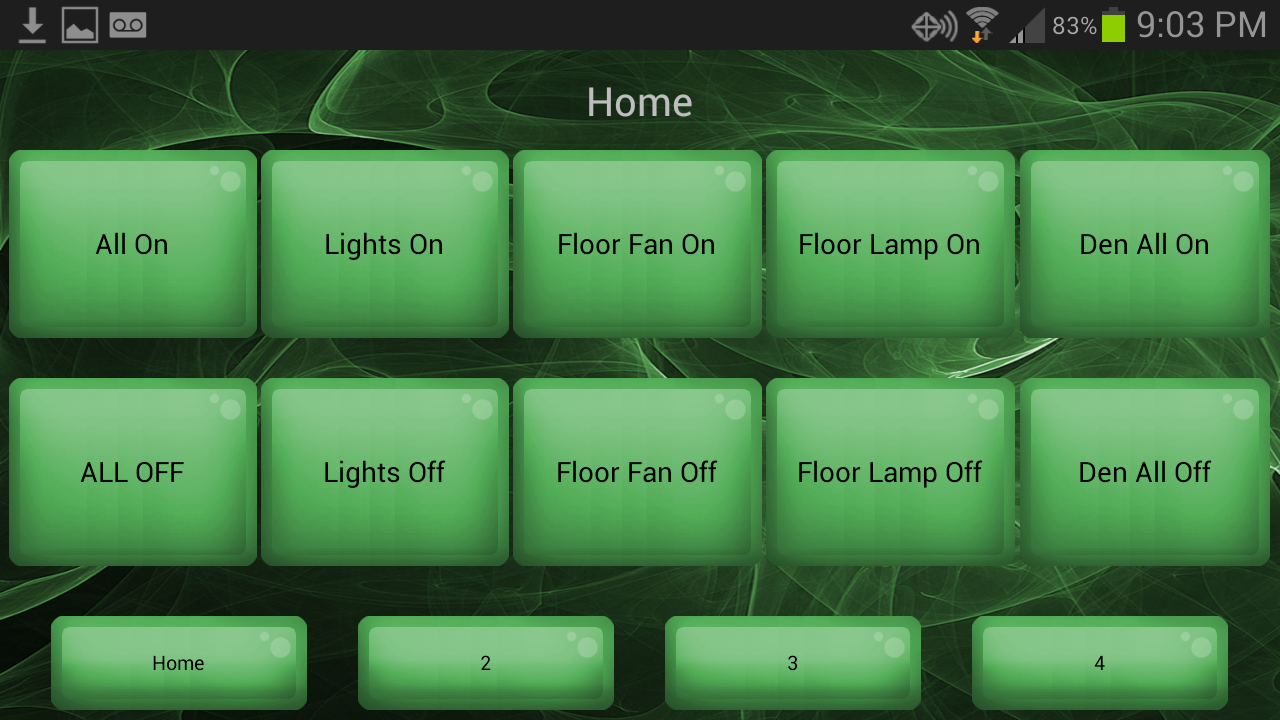 Home Automation Controller - screenshot