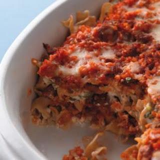 Creamy Hamburger Noodle Casserole