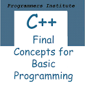 C++ Programming 106 Basics End logo