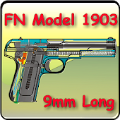 FN pistol model 1903 explained