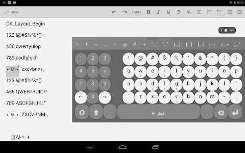 Multiling O Keyboard + emoji v0.34