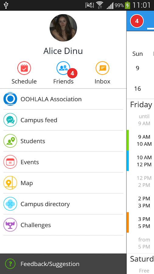 OOHLALA - Campus App - screenshot