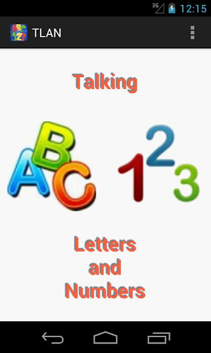 Talking Letters And Numbers