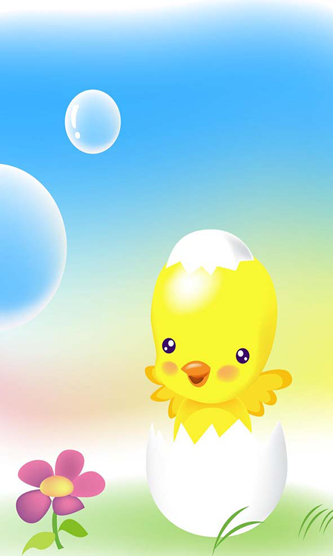 Magic 3D Chicken LWP - screenshot