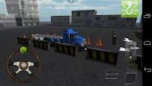 Aparcamiento para camiones 3D