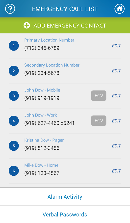 MyADT: ADT Customer Service- screenshot