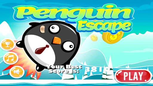 Penguin Flying Escape HD Free
