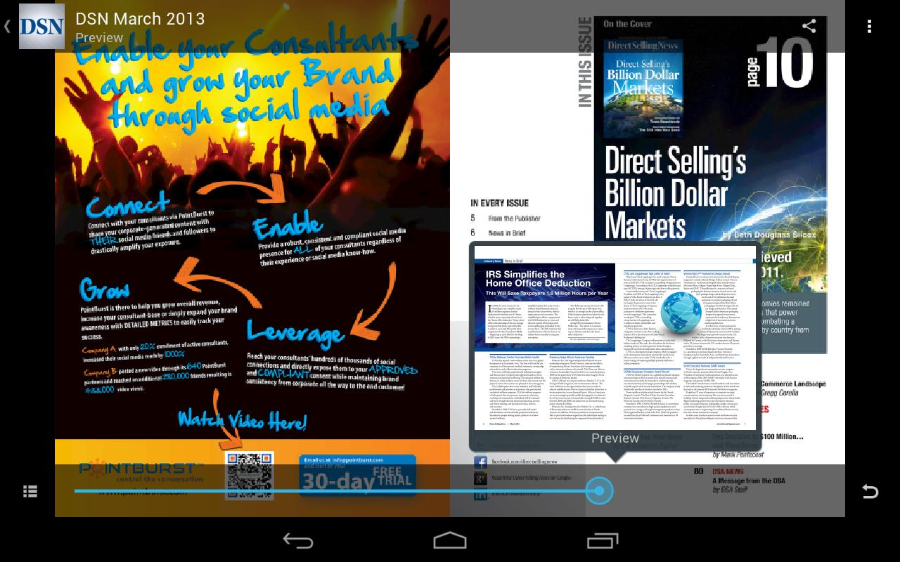 Direct Selling News Magazine- screenshot