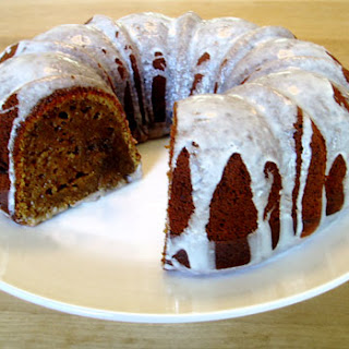 Porterfield Pumpkin Bundt with Snow White Glaze