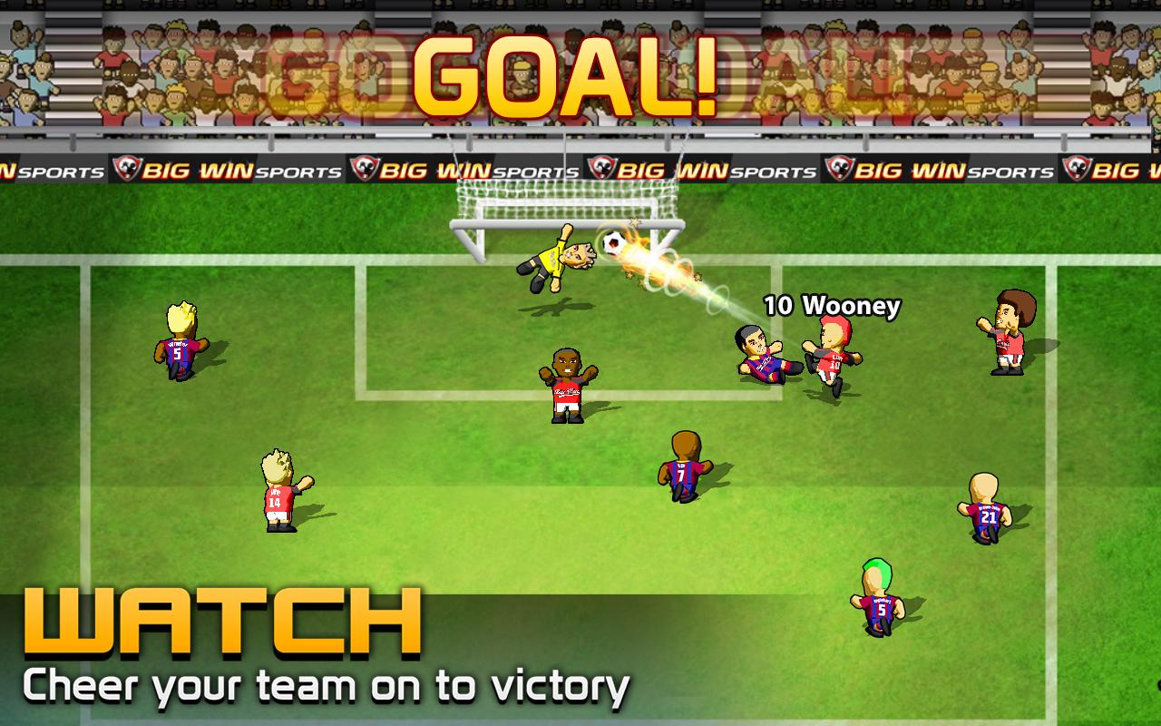 big win soccer football android apps on google play
