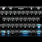 Black Blue theme for GO Keyboa icon
