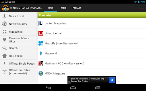 News Radios Podcasts