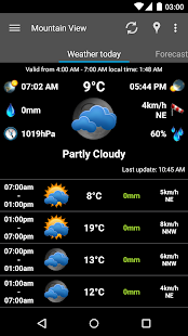 AmberHome Weather - screenshot thumbnail