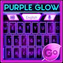 GO Keyboard Purple Glow Theme icon