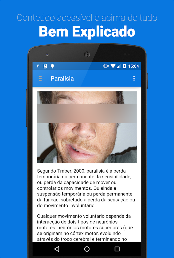 Paralisia Facial- screenshot