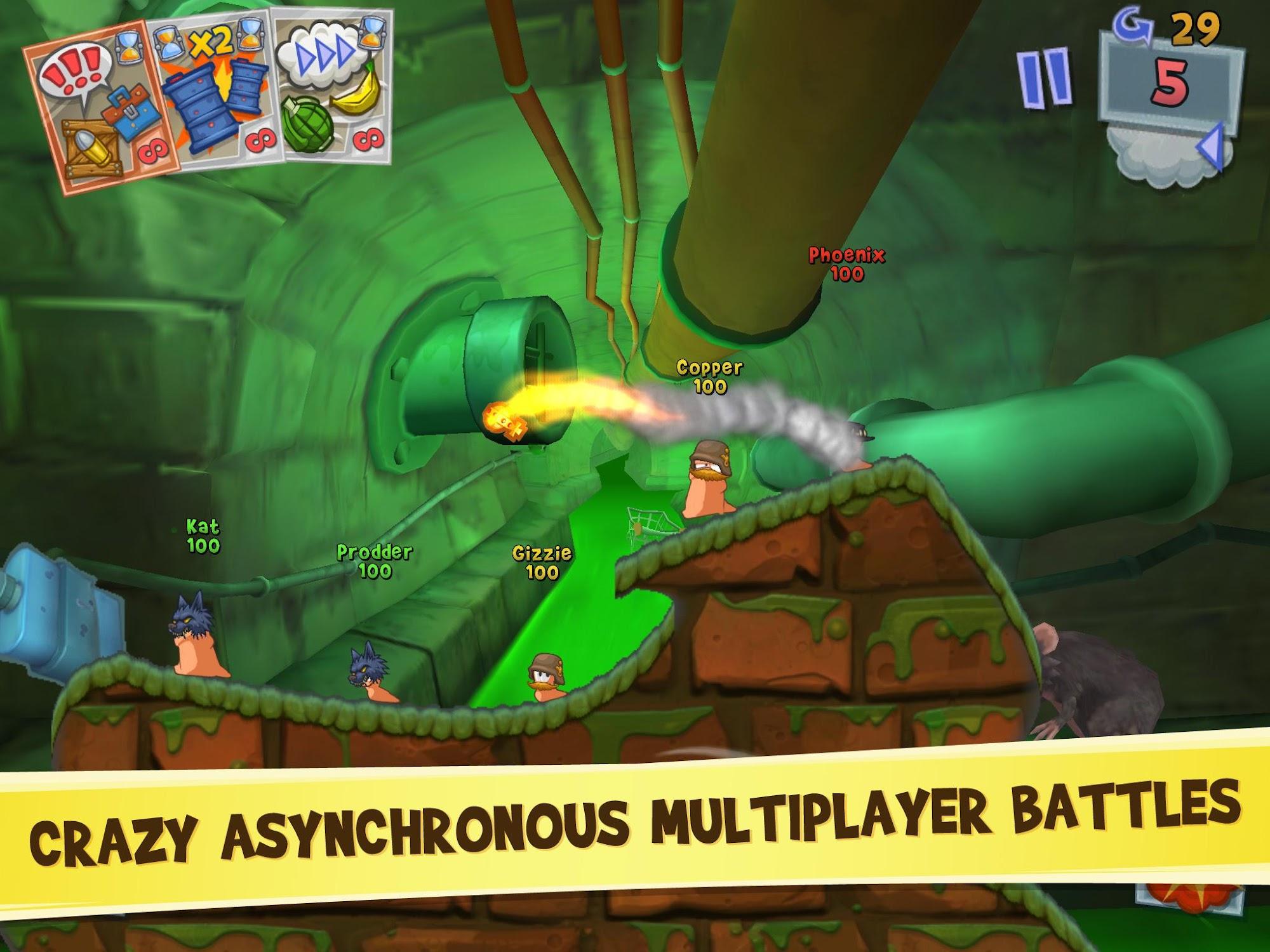 Worms 3 screenshot #2