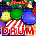My baby Xmas drum icon